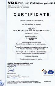 ТЭНы производство по нормам ISO-9001