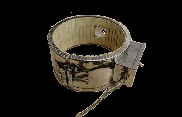 Керамический хомутовый нагреватель 160х90 3000 Вт